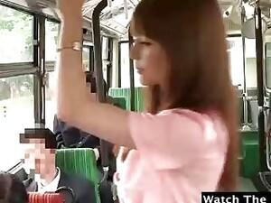 Autobuz,Fetish,Japonez,In public,Adolescente