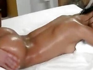 Father Massages Daughter By Oil And Kissing Then Fucking And Daughter Loving Him