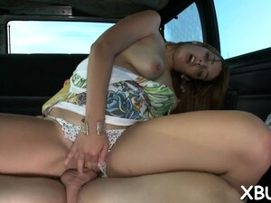 Playing With A Slut In A Bus Video