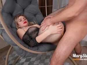 Hard Anal Fuck With Hot Beauty On A Swing