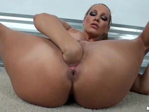 A Huge Dildo Previews A Heavy Fisting And A Broomstick Masturbation