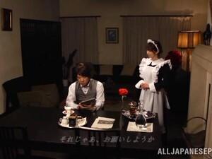 Full Service Asian Maid Fucks In The Bath
