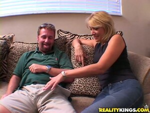 Sex Hungry Patricia Gives A Blowjob And Gets Fucked Doggystyle