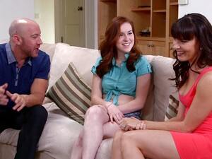 Closeup Video Of FFM Threesome With Wife Dana Dearmond And Her BFF