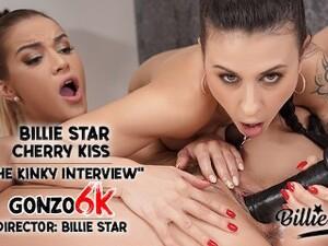 The Kinky Interview - Part 004 - Billie Star Invites Cherry Kiss / Sapphic