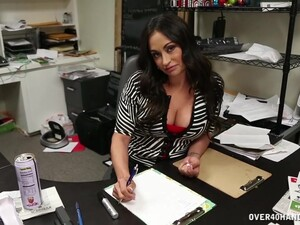 POV Video Of Fuckable Coworker Claudia Valentine Sucking A Dick