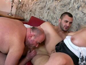 Секс втроем,Бисексуалы,Зрелые