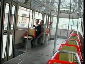 Amazing Anal Sex In The Public Bus With Angela