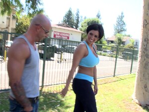After Training Dylan Ryder Gets Her Pussy Pleased By Her Trainer