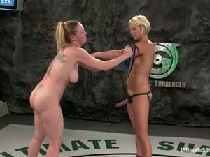 Hot Chicks Have Wild Sex In A Ring And Give An Interview