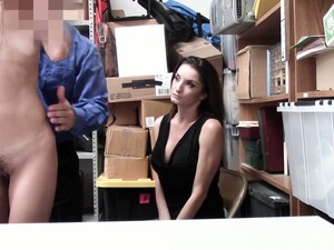 Found Guilty In Stealing Lingerie Young Hottie Victoria Vargaz Gets Fucked