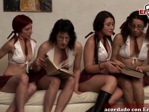 Spanish Amateur Teen Groupsex Orgy