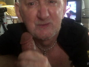 Gramps Got 2 Loads From This Brick Dick CU