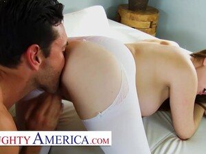 Allison Moore Gets A Nice Warm Load Inside Her Wet Pussy