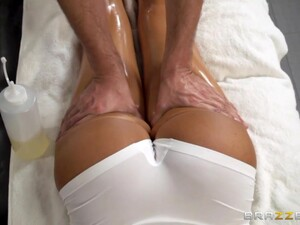 Relaxing Massage Is Turned Into Quite Hard Doggy Banging In Parlor