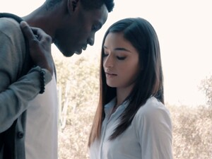 Palatable Young Sweetheart Emily Willis Is Fucked Doggy By Black Stud