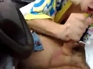 Hard Russian BJ In Car!