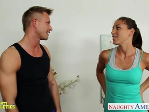 Private Fitness Strainer Rilynn Rae Fucks Her Client During Workout