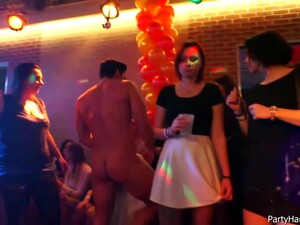 Naughty Girls Did Not Know About A Hidden Camera In The Club, While They Were Fucking