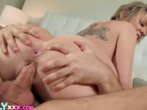 Stepson Helps Stepmom After Watching Her Vibrates Herself