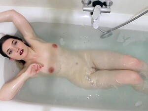 Busty Emo Chick Invites Us To Join Her In Bath Tub As She Gets Hot And Horny