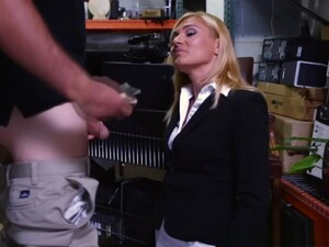 Cash Needing Milf On Her Knees Sucking Cock