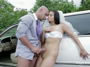 Limo Driver Bangs Victoria Blaze On The Way To Wedding