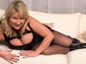 British Big Breasted Housewife Goes Wild - MatureNL