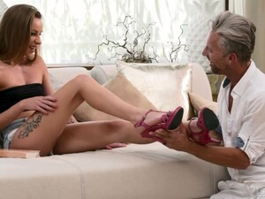Foot Fetish Sex Games And Wild Pounding Suit Both Well For Lovely Angel Emily