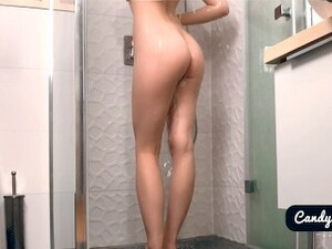 Passionate Sex In The Shower With Amateur Babe Candy Love