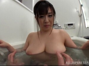Big Boobs Chic Serves Her Guy A Wonderful Titty Fucking In A Close Up Shoot