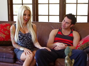 Incredible MILF Helly Mae Hellfire Spreads Her Legs To Ride