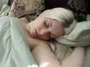 Lovely Teen Blonde Girlfriend Likes To Sleep All Naked
