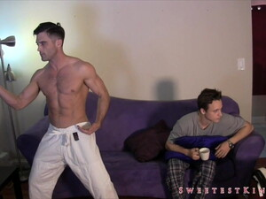 Lance Hart And Tristan Sweet Karate Foot Domination
