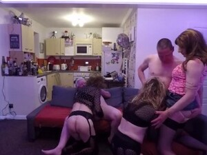 Another TGirl Orgy PArt 1