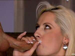 Daria Glower Gets Her Ass Pounded And Enjoys A Mouthful Of Cum