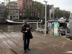 During His Trip To Amsterdam He Hires A Hooker And Bangs Her