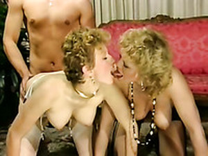 Hot And Passionate FFM Threesome With Two Sexy Sluts