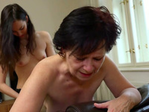 Nothing Turns This Old Lady On More Than Strap-on Play