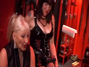 Spit Roasted By Three Mistressses