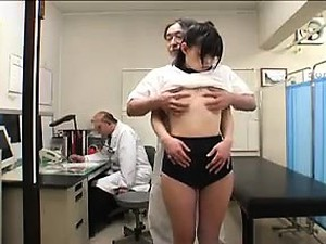 Tiny Tit Asian Schoolgirl Goes In For An Exam And Gets Meas