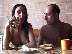Hot Couple Doing Very Horny Sex In The Hot Sauna