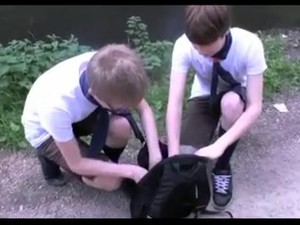 Gay Porn Clip With Two Adorable Twinks Fucking