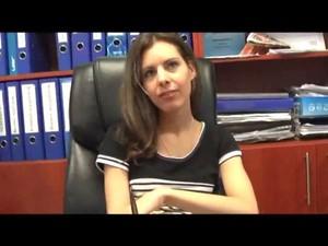 Izabella A Munkahelyen Sexel