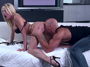 Dashing Blonde Babe In High Heels Getting Her Pussy Licked Then Drilled Hardcore