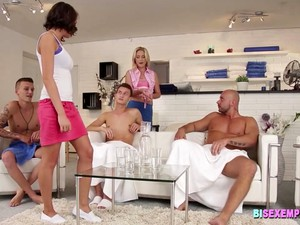 BiSexempire - Vinna Reed And Andy West In Bisex Orgy