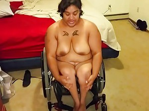 Real Amateur Disabled Boobs