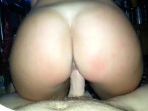 Girl With Bubble Butt Rides Dick