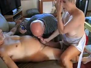 Crazy Homemade Handjobs, Mature Porn Scene