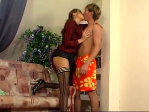 Mature Woman Seduce Guy